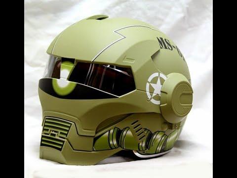 Masei Iron Man Motorcycle Helmet Review Youtube