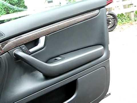 2005 Audi S4 interior