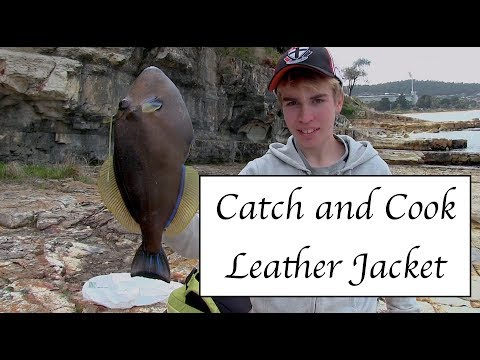 How To Catch N Cook Leather Jacket | Catch N Cook #1
