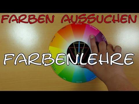 Farben aussuchen mit Farbenlehre - Farbharmonien