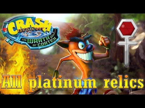 Crash Bandicoot: The Wrath of Cortex - All 30 Platinum Relics / Все 30 платиновых реликтов