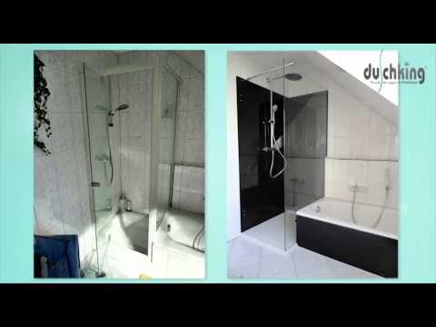 duschking vorher nachher beispiele youtube. Black Bedroom Furniture Sets. Home Design Ideas
