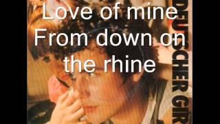 Adam and the ants - Deutscher Girls (Lyrics)