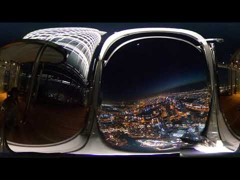 The Lounge (152-154th floor), Burj Khalifa by night – Dubai – 360 | Ne Tammelat