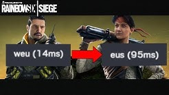 (UPDATE)( PC - Console)  How to change SERVERS on Rainbow Six Siege