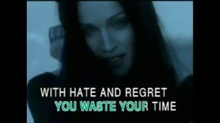 Frozen by Madonna MV (karaoke version)