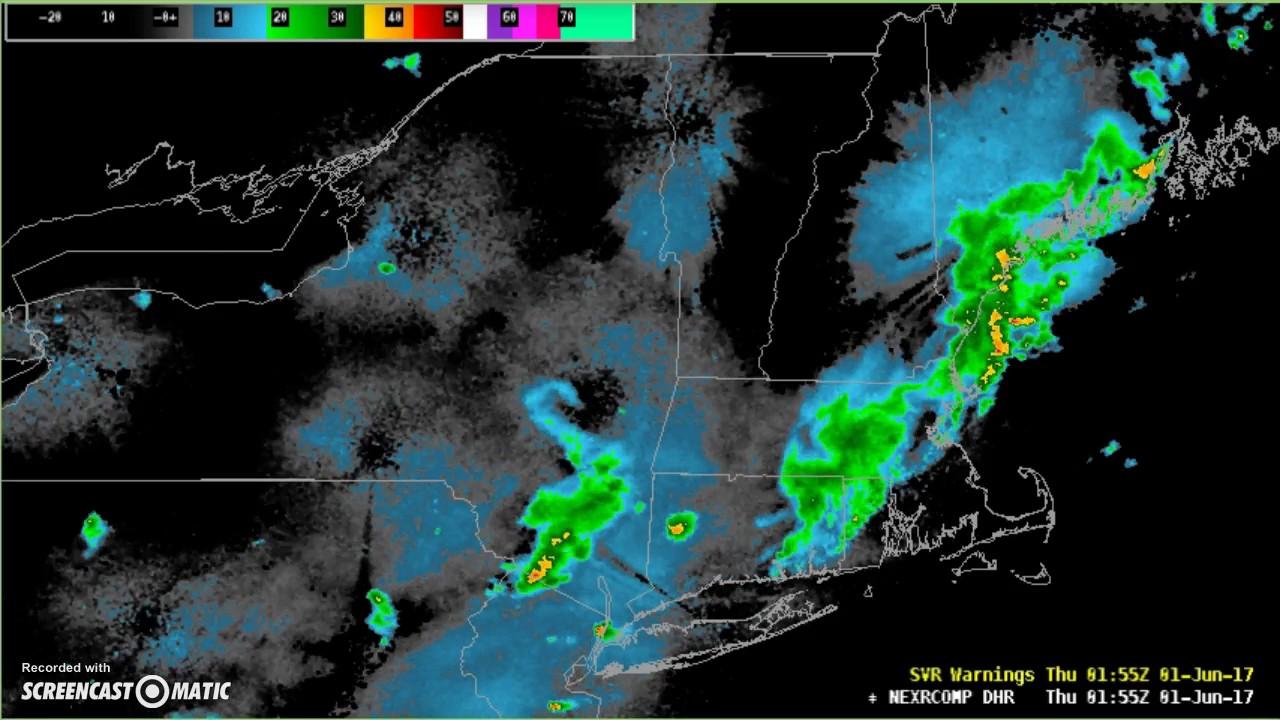 Radar Loop  Northeast US YouTube - Us weather radar map loop