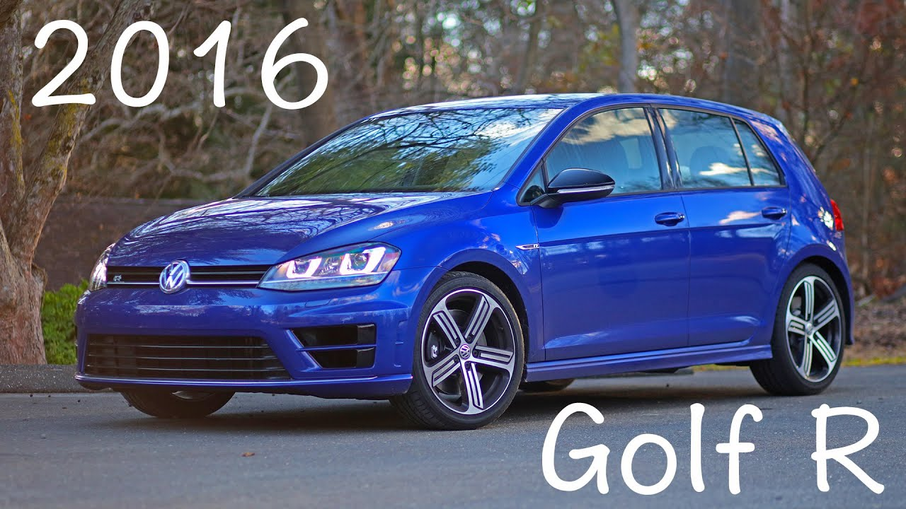 2016 Vw Golf R Mk7 Review Youtube