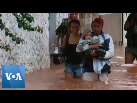 Heavy Rains in Brazil Cause Flooding, Landslides