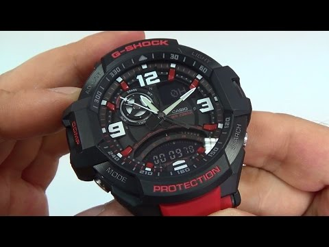 Gopro Hero Session Battery Life >> Casio - G-Shock GA-1000-4BER review - YouTube