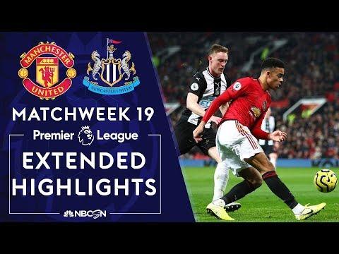 Manchester United V. Newcastle | PREMIER LEAGUE HIGHLIGHTS | 12/26/19 | NBC Sports