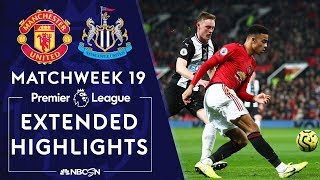 Manchester United v. Newcastle | PREMIER LEAGUE HIGHLIGHTS | 12/26/19 | NBC Sports