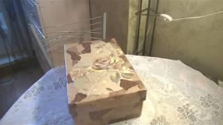 декор коробки под нужные мелочи