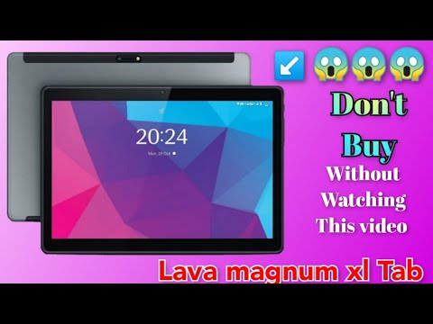 Lava magnum xl tablet Full Specification, Price.. 11999 R's. lava new tablets Launched in India...