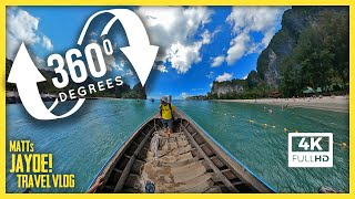 360 Degree Video Boat Ride From Railey Beach to Ao Nang