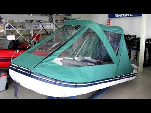 Полный ходовой тент на ПВХ лодку