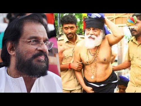 KJ Yesudas sings to Lord Ayyappa at Sabarimala with Harivaraasanam | Latest Tamil Cinema News