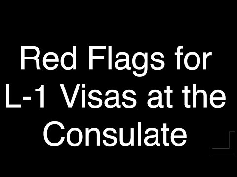 Red Flags For L-1 Visas At The U.S. Consulate W/ Former Consular Officer Mandy Feuerbacher, Esq.
