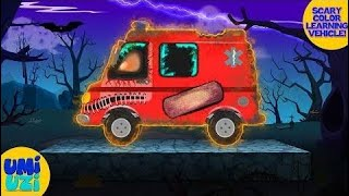 Umi Uzi   learn colors with scary ambulance   Halloween special s for kids  ♥♥♥ Umi Uzi