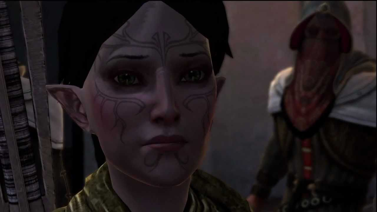 Spoilers Dragon Age 2 Merrill Siding With Templars