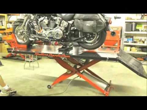 Redline Engineering MC1K 1,000 lb Motorcycle Lift Table