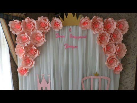 Как украсить комнату на День Рождения * Оформляем детский праздник/ DIY Birthday Room Decor