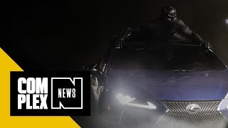 Lexus Teamed Up With Marvel Studios' Black Panther To Design A Custom LC 500