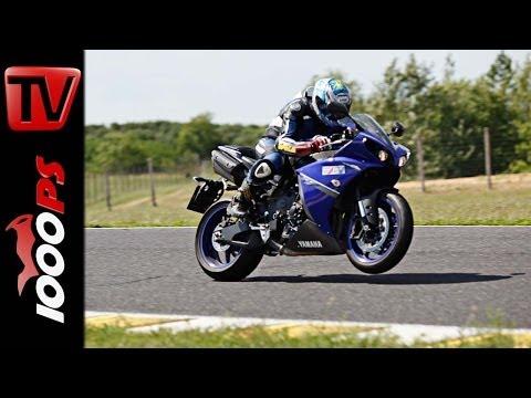 Yamaha YZF R1 Rennstrecken Test