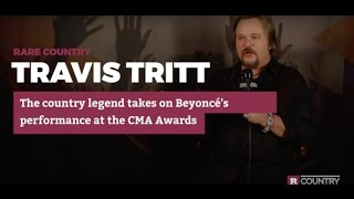 travis tritt takes on beyonc s performance at the cma awards   rare country