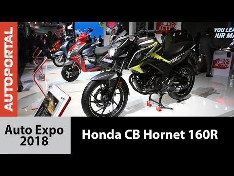 Honda CB Hornet 160R at Auto Expo 2018 - Autoportal