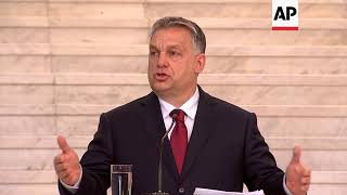Orban says Hungary's own migration plan to focus on security