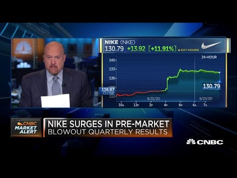 Jim Cramer On Nike's Blowout Quarterly Results