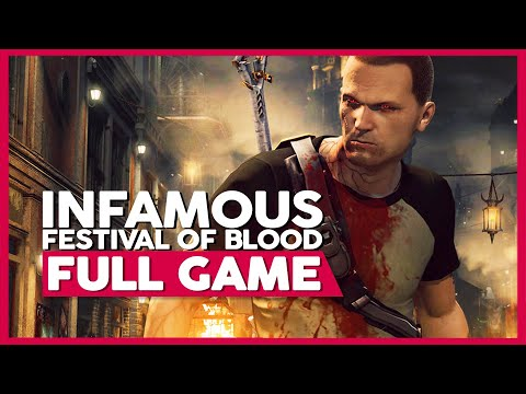 Infamous: Festival of Blood | PS3 | Full Gameplay/Playthrough | No Commentary