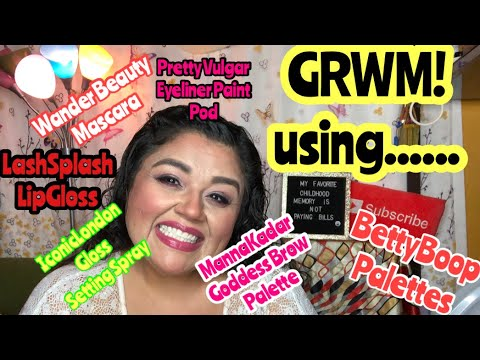 GRWM Using Ipsy Betty Boop Products On My Birthday And More| October