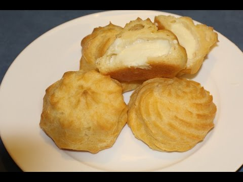 Cream Puffs (Really easy Recipe)