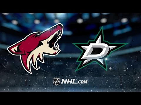Three-goal 3rd period leads Stars past Coyotes, 5-2