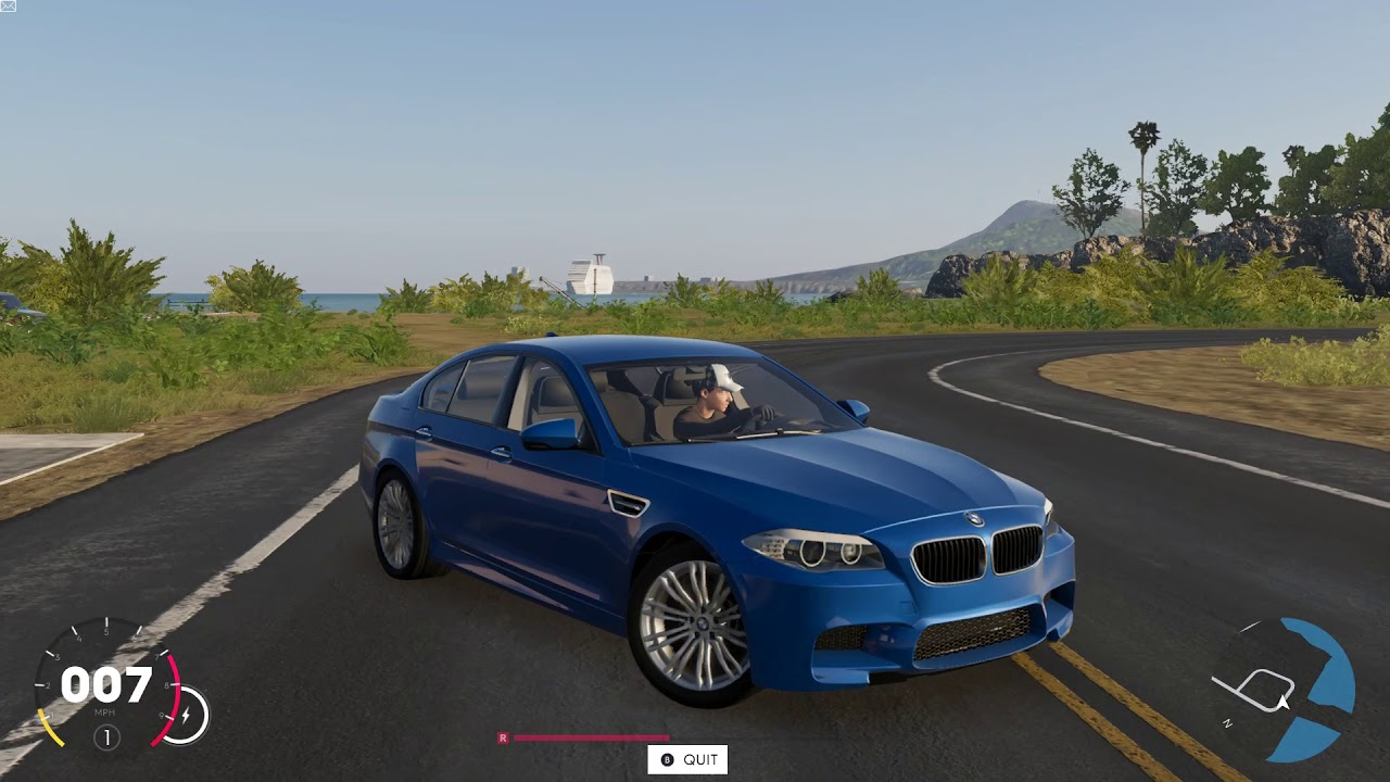 the crew 2 bmw m5 test drive street race youtube. Black Bedroom Furniture Sets. Home Design Ideas