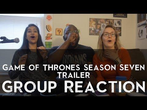 Game Of Thrones - Season 7 Official Trailer - Reaction 1