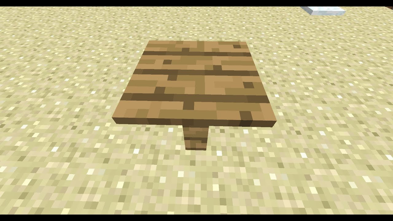 Small Table Minecraft 5