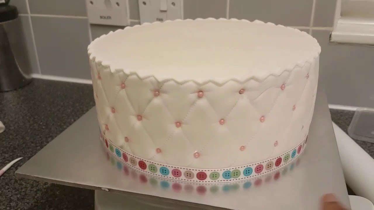 My Sewing Kits Birthday Cake Youtube
