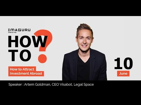 Artem Goldman- How To Attract Investment from Abroad? VisaBot