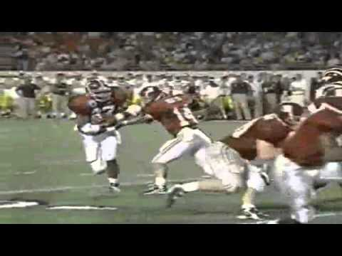 Orange Bowl 2000 highlights: Michigan Wolverines 35 - Alabama Crimson Tide 34 [HD] part 1