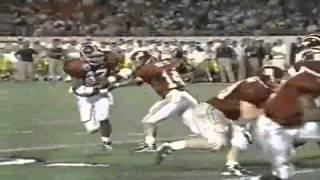 Orange Bowl 2000 highlights: Michigan Wolverines 35 - Alabama Crimson Tide 34 [HD] part 1