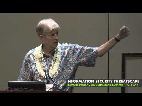 3rd Annual Hawaii Digital Government Summit: Information SecurityThreatscape