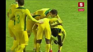 Красивый гол Эрвейна Мукама. Гомель - Неман (21/05/2018. Высшая лига, 8 тур)