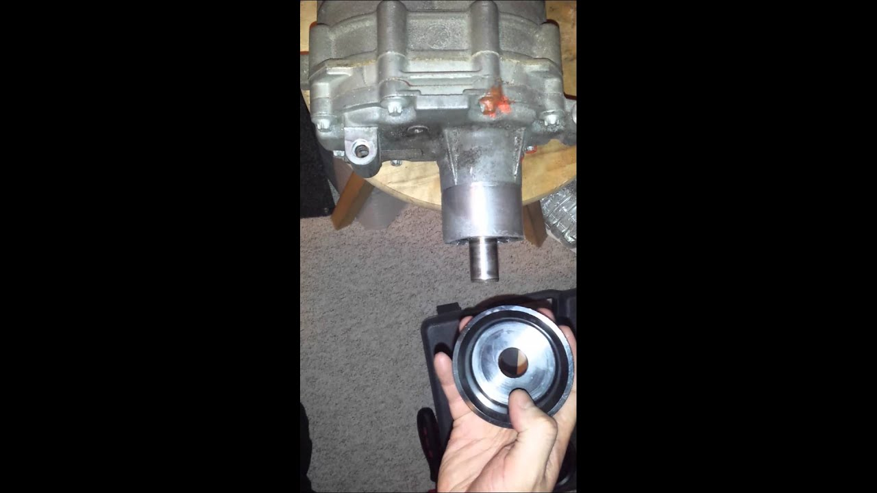 Supercharger M45 loose pulley