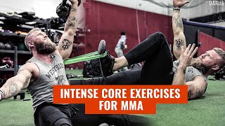 Intense Core Exercises for MMA & Combat Sports | Phil Daru