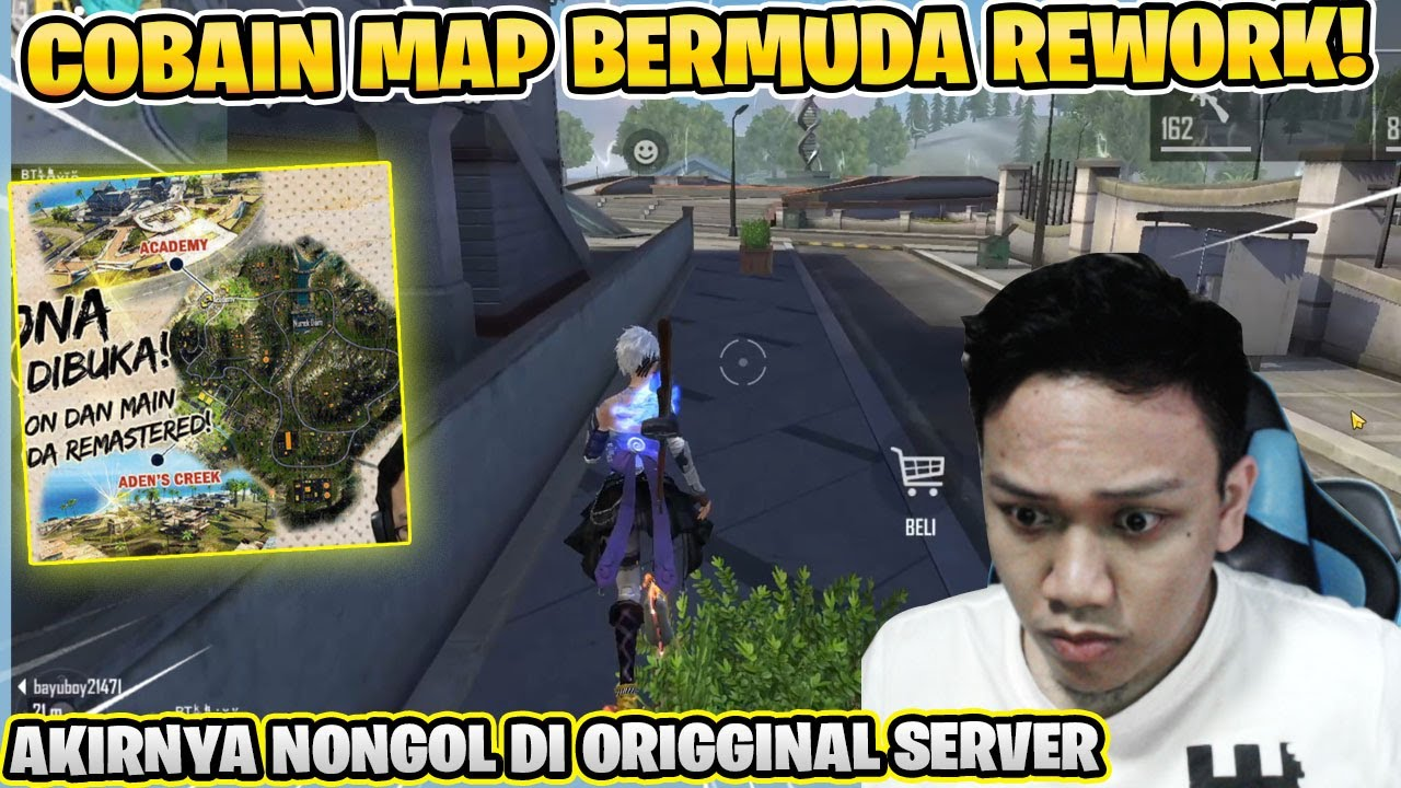 UPDATE MAP BERMUDA TIBA DI ORIGINAL SERVER!