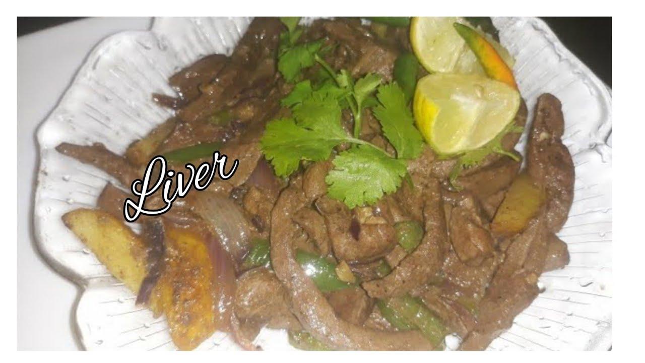 Download Mapishi rahisi ya Maini ya kukaanga | How to make stir-fried liver | Maini