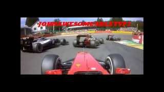 SPA 2012 CRASH(Disclamier I DO NOT own any content in this video all content belongs to FIA and the Formula 1 management (FOM),Formula 1 Teams,, 2013-05-27T20:51:23.000Z)